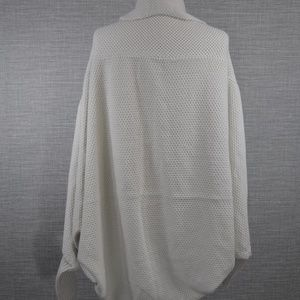 Anthropologie Sweaters - NWOT Off White Oversized Dolman Cardigan